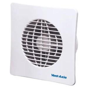 Ventilator de baie cu timer si clapeta antiretur
