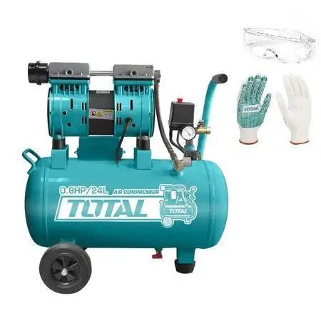 Compresor aer fără ulei Total 600 W