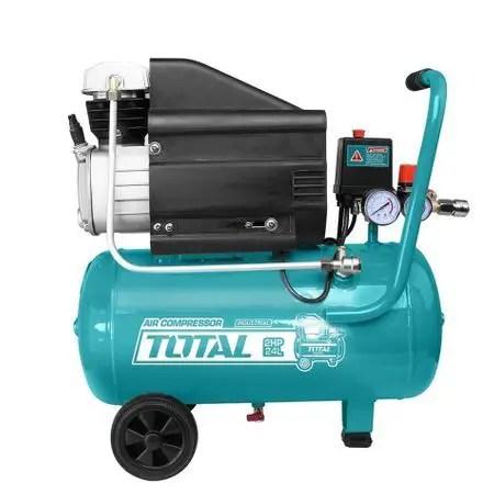 Compresor aer pe ulei Total de 24L 8 bar