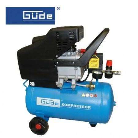 Compresor de aer GUDE 231/8/24 / 8 bar, 24 L / 50041