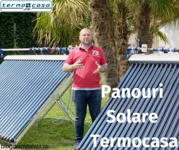 Panouri Solare Termocasa Cu Absorbtie Directa Si Oglinda CPC