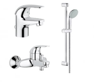 Set dus Grohe Romstal - GROHE EUROECO TEMPESTA NEW 100