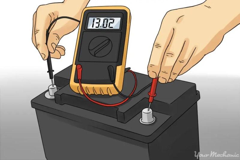verifica bateria masinii