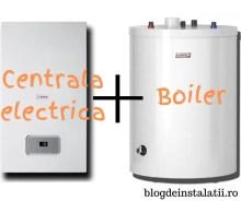centrala electrica cu preparare apa calda menajera prin boiler