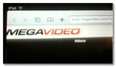 Megavideo iPad