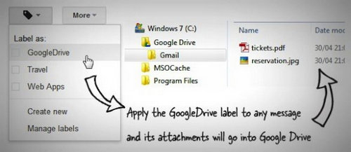 gmail to google drive