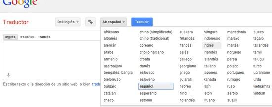idiomas raros