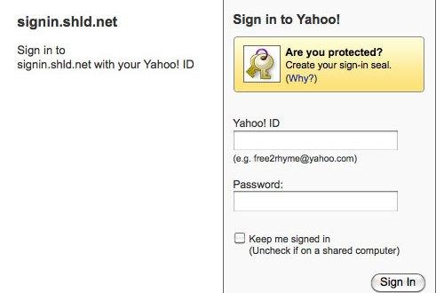 Subir archivos a Yahoo
