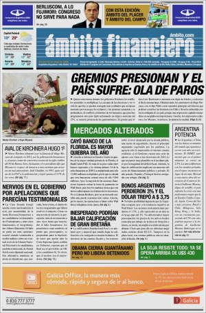 Ambito Financiero crece en la provincia conocida por Julio Ramos