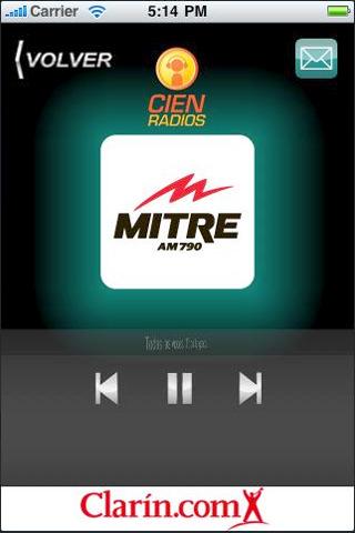 El app para escuchar Radio Mitre, muy aplaudido por usuarios y oyentes