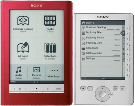 Los nuevos e-books de Sony, más cerca de la tinta electrónica... y mucho más baratos.