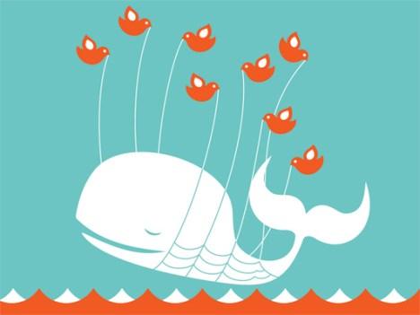 La relación entre Twitter y los gigantes medios tradicionales, una relación que como esta imágen tienen muchas interpretaciones.