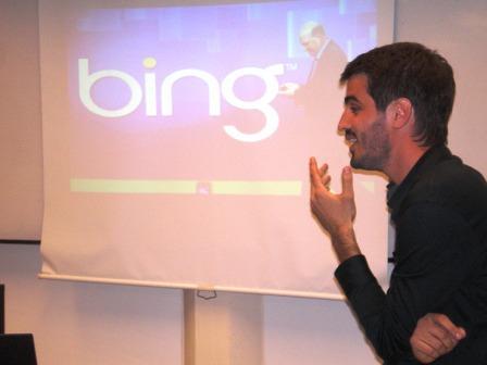 El fundador de SG2 y columnista de CNN en una charla en la UCA, en Buenos Aires.