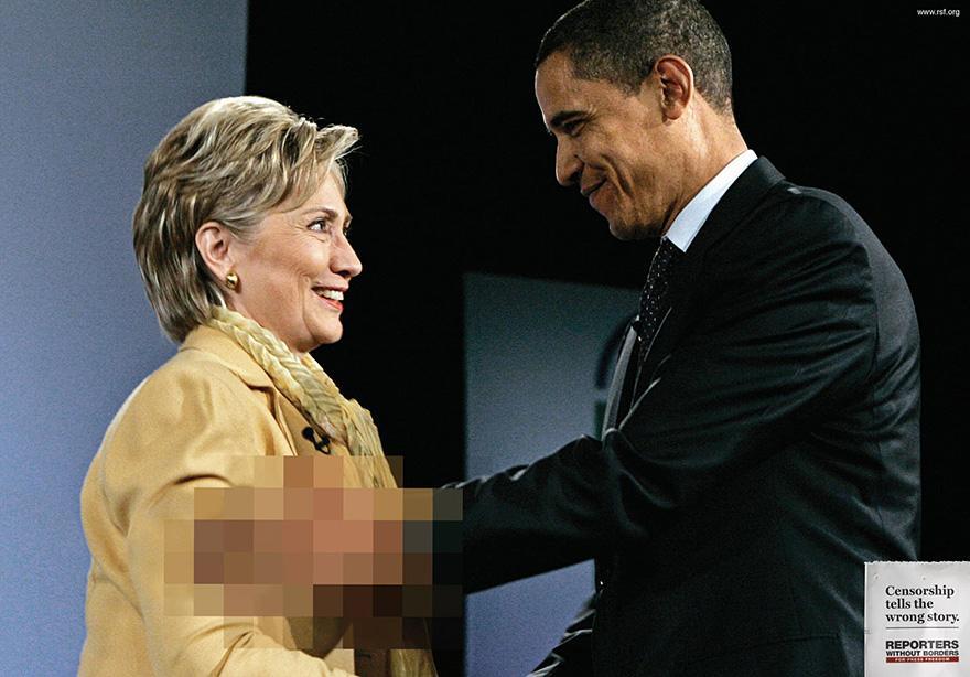 La censura cuenta la historia equivocada