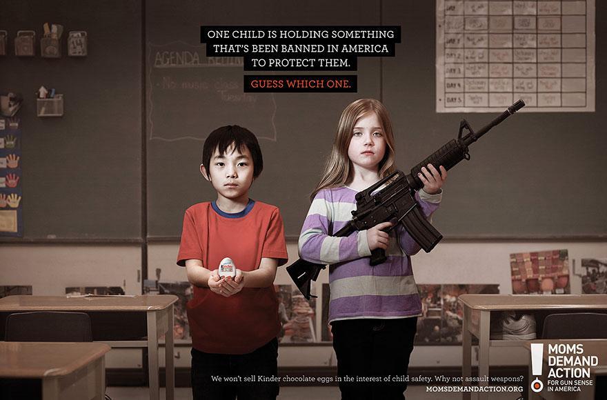 Un niño está conteniendo algo que ha sido prohibido en Estados Unidos para protegerlos. Adivina ¿Cuál?