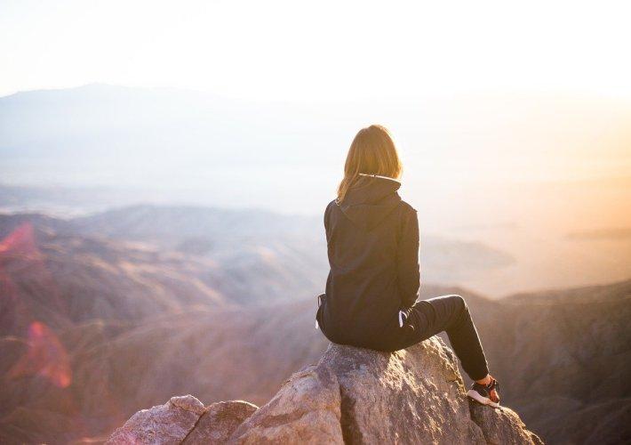 montaña mujer