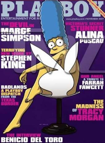Marge_Simpson_desnuda_Playboy, famosa desnuda, porno, sexo gratis