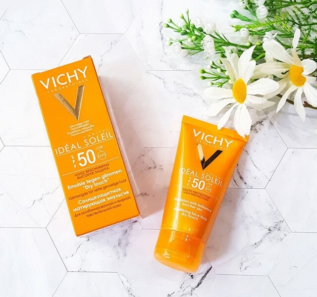 Vichy Ideal Soleil SPF50 Face Dry Touch
