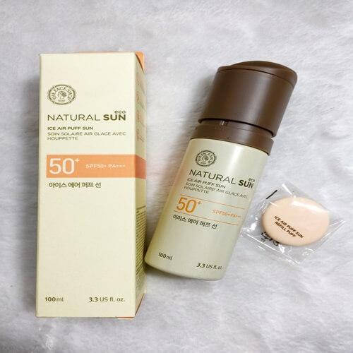 Chống nắng The Face ShopNatural Sun Eco