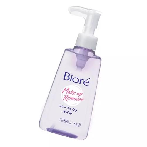 Review dầu tẩy trang Biore make up remover với thiết kế nắp độc đáo