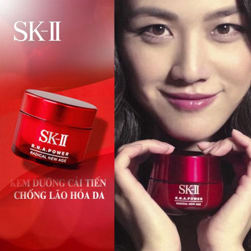 Kem chống lão hóa SK-II R.N.A. Power Radical New Age Cream review