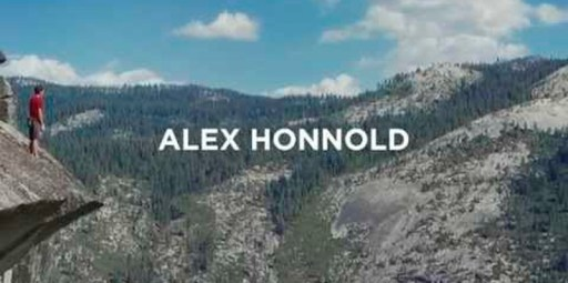 Alex Honnold divulga video-perfil para anunciar seu novo website