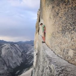 "Filme ""Alone on the Wall"" com Alex Honnold é liberado para visualização gratuita"