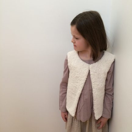 Patron couture Enfant Gilet sans manches - Eridan