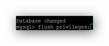 Cambiar password usuario MySQL