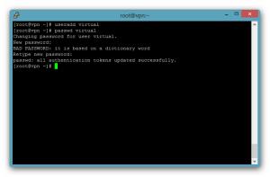 Crear usuario Linux - CentOS