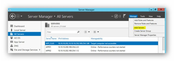 Server Manager 2012