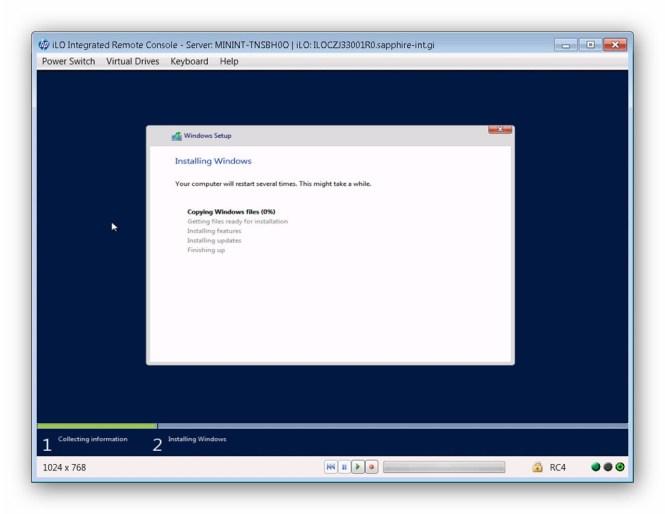 Instalar Windows Server 2012 HP Proliant