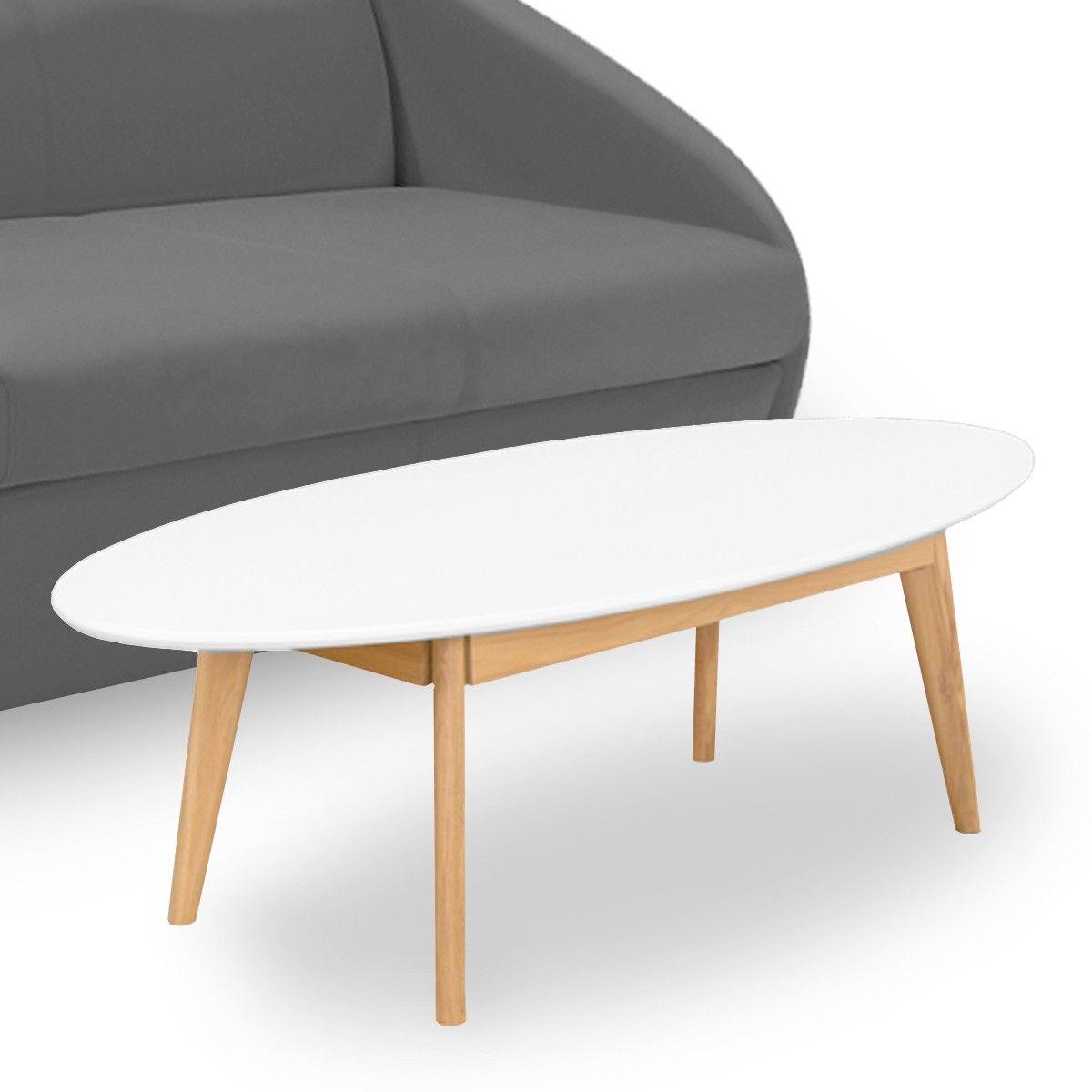table basse ovale design scandinave skoll drawer 149