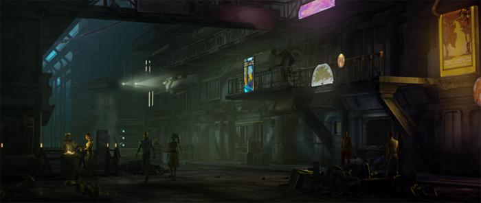 Coruscant Underworld Art