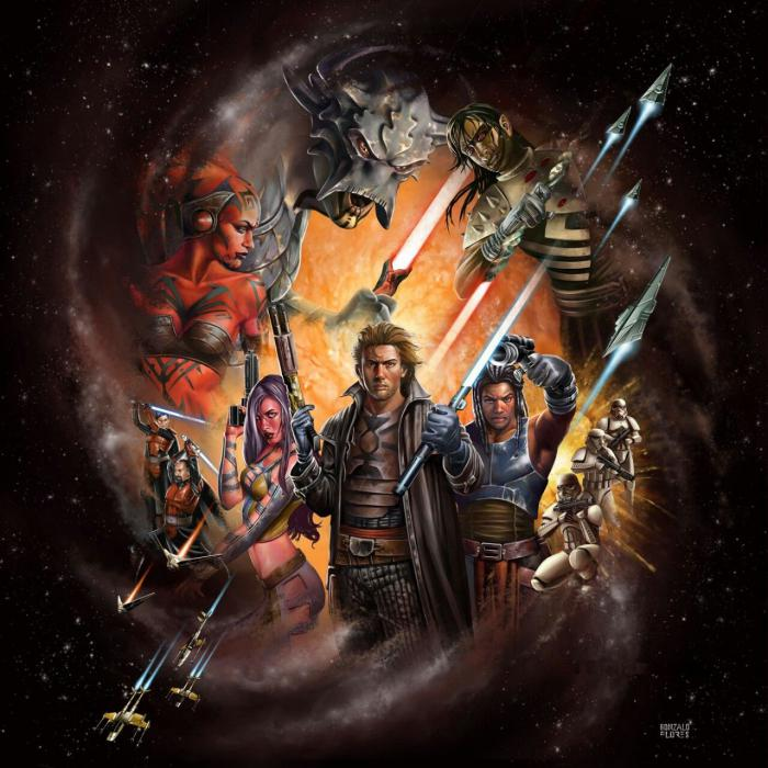 Star Wars: Legacy Art