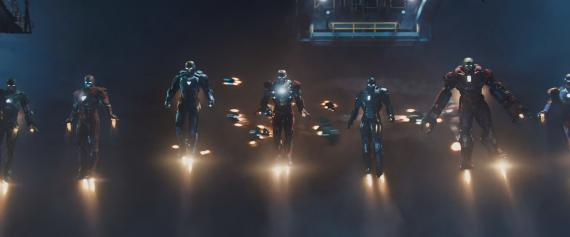 Captura del trailer de Iron Man 3 (2013)