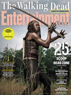 Portada de EW para el regreso de la sexta temporada de The Walking Dead