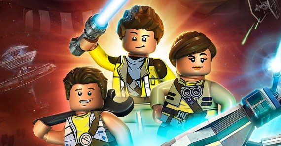 Recorte del póster de LEGO Star Wars: The Freemaker Adventures