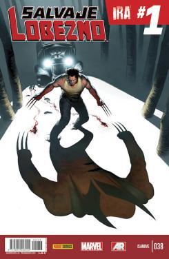 Portada del cómic Salvaje Lobezno 38