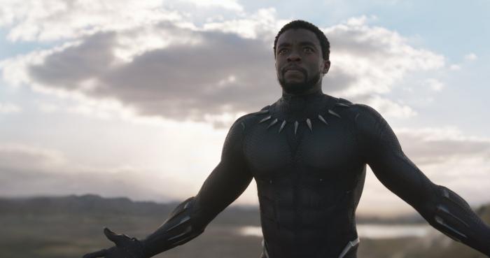 Captura del teaser trailer de Black Panther (2018), T'Challa / Black Panther