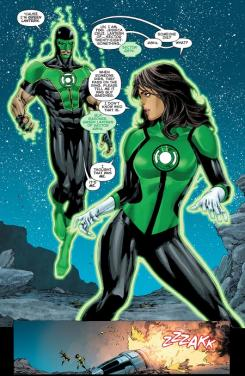 Imagen de Green Lanterns: Rebirth #1, por Geoff Johns, Sam Humphries y Ethan Van Sciver