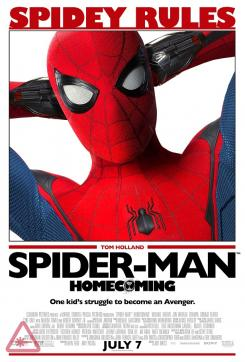 Poster retro de Spider-Man: Homecoming (2017)