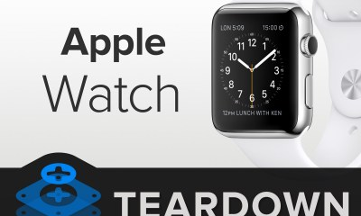 Apple Watch demontat la Ifixit