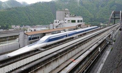 Viteza record pentru trenul japonez