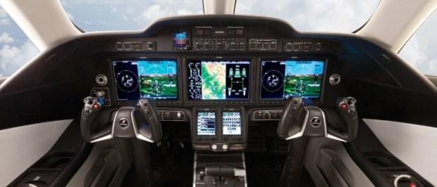 Cockpit Honda Jet