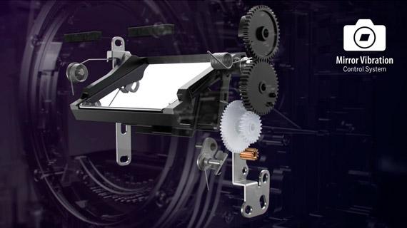 Mirror Vibration Control