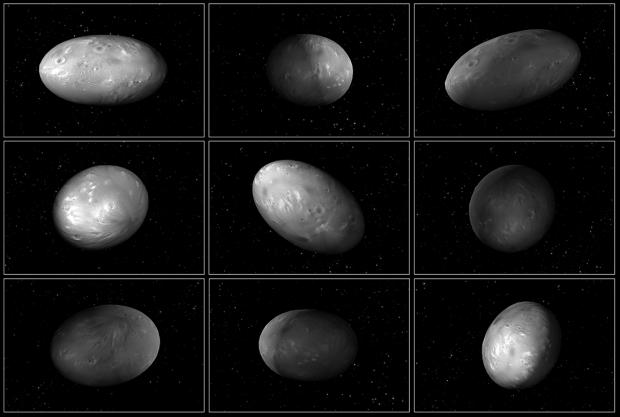 imagini hubble sateliti Nix Hydra
