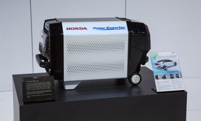 Honda power exporter 9000
