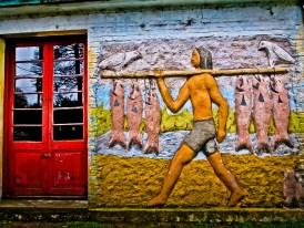 mural en San Gregorio de Polanco, Uruguay_18