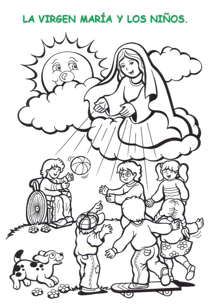 Dibujos catequesis (colorear) « Dios nos habla al corazón